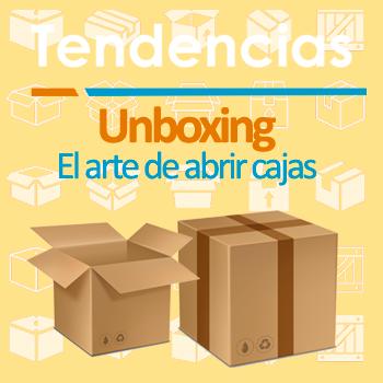 ¿Qué tienen en común los embalajes, las cajas y youtube? ¡El Unboxing!