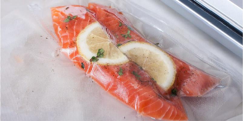 ¿Cómo cocinar pescado envasado al vacío?