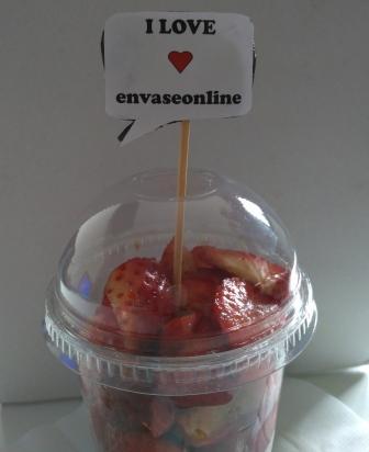 desayuno de fresas en san valentín